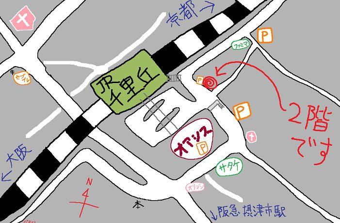 古川工房地図